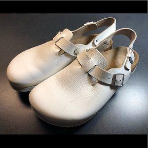 Birkenstock Tokio Professional White Leather